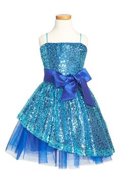Un+Deux+Trois+Sequin+Dress+(Big+Girls)+available+at+#Nordstrom
