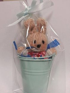 Easter bunny rabbit  cute gift by LOVESOMUCH on Etsy