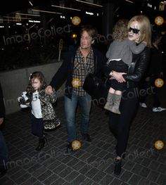 Nicole Kidman, Keith Urban and daughters at LAX Keith Urban, Nicole Kidman, Celebrity Photos, Photo Library, Daughters, Punk, Celebrities, Fashion, Moda
