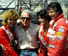 Paul Newman, Mario Andretti and friends