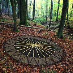 Landart - Kunst mit Natur   Freie Kunst Akademie Augsburg