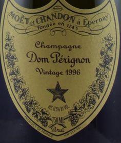 1996 Moët & Chandon Champagne Cuvée Dom Pérignon