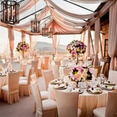 May not be now, but it will be later / When done right drapery can take your wedding venue from pretty to pretty amazing in one second! Here are 15 Fabulous Ideas