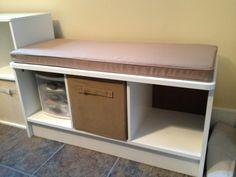 New storage bench