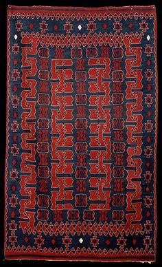 Balikesir kilim, Turkey, mid 20th century