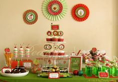 Dessert Table by Pearlycakes.com