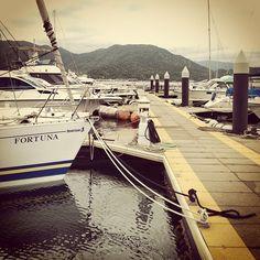 ボートの行列 #30jidori @ フィシャリーナ小島 instagram.com/p/aUqyD0RiDj/