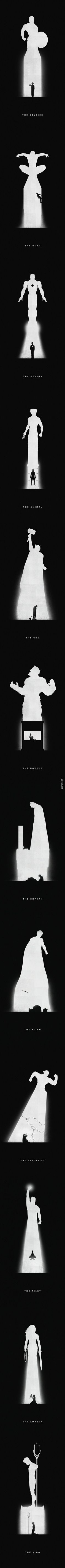 Very Cool Superhero Artwork  // funny pictures - funny photos - funny images - funny pics - funny quotes - #lol #humor #funnypictures