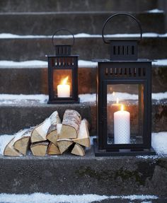 lantern - winter - candles - outdoor - christmas - lantaarns - zwart - kaars - buiten - kerst