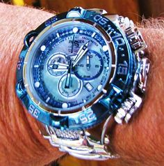 Invicta subaqua noma V chronograph custom liquid chrome via @MGGradwhol (Click on photo to see more ...)