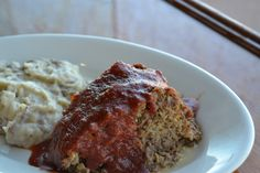 Meatloaf from Bricktown Brewery at Remington Park