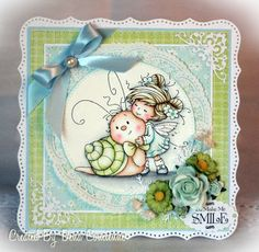 Whimsy Wee stamps - Love you slow much - love the coloring, layout and colors - bjl