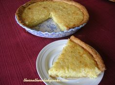 EASY COCONUT CUSTARD PIE | The Southern Lady Cooks