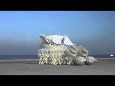 These Incredible Kinetic Sculptures Move in a Lifelike Manner, Powered by the Wind | The Mind Unleashed