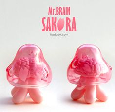 "Mr. Brain ""Sakura"" edition from Funk Toy!!!"