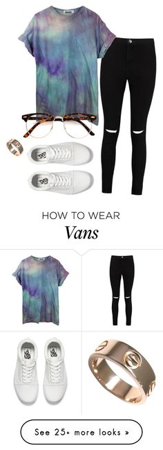 """#No name"" by eemaj on Polyvore featuring Boohoo, Vans and Cartier"