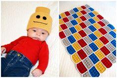 Lego Blanket and Beanie