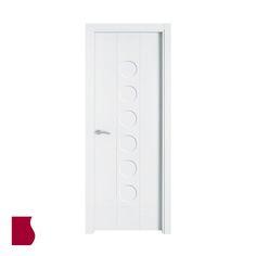 Modelo 906/ LACADA BLANCA / Colección Lacada / Puertas de interior Sanrafael