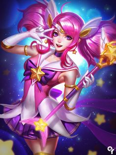Lux Star Guardian by Liang-Xing.deviantart.com on @DeviantArt