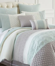 Look at this #zulilyfind! Gray Palisades Comforter Set by Colonial Home Textiles #zulilyfinds