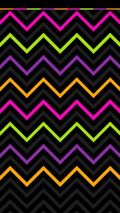 Hot Pink Glitter Chevron | Other Background Options in ...