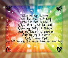 Find You on My Knees - Kari Jobe #Whereifindyou :)