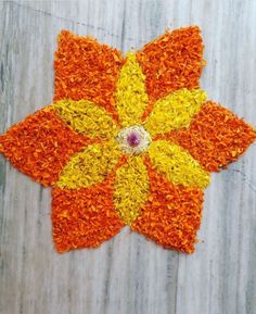 Landscaping Flowers Simple 24 Ideas For 2019 Easy Rangoli Designs Diwali, Rangoli Simple, Rangoli Designs Flower, Rangoli Border Designs, Rangoli Patterns, Colorful Rangoli Designs, Rangoli Ideas, Indian Rangoli Designs, Rangoli Designs Images