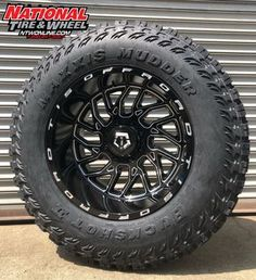 TIS Type 544 mounted up to a Maxxis Buckshot Mudder II. 4x4 Trucks, Diesel Trucks, Chevy Trucks, Ram Sport, Land Rover Defender 130, Jeep Grand Cherokee Laredo, Off Road Tires, Wheel And Tire Packages, Rims For Cars