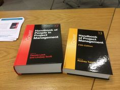 Two new Handbooks from Gower, People in Project Management and Handbook of Project Management 5th Edition