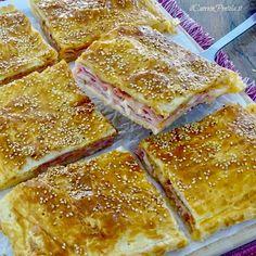 Italian Dishes, Italian Recipes, Pizza E Pasta, Pizza Rustica, Bread Dough Recipe, Brunch, Quiche, Good Food, Yummy Food