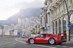 Ferrari F40, Monaco
