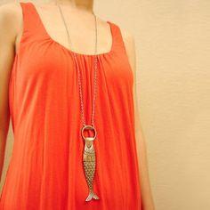 Fish Bottle Opener Necklace