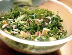 Salada mista de folhas e gengibre - Ideal Receitas