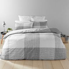 Chromatic Check Quilt Cover Set