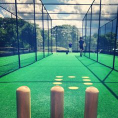 Graham beats Will.........finally! #target #bowling #stump #practice #private #cricket #coaching #sports #training