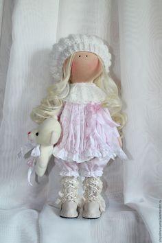 Купить Интерьерная текстильная кукла - кукла ручной работы, кукла в подарок, кукла интерьерная