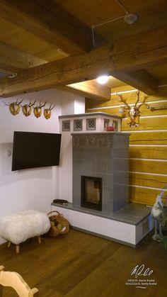 Návrh a realizace dobových interiérů roubenek - roubenkyroubal. Alpine Style, Chalet Style, Wood Burner, Hygge, My House, Decoration, Sweet Home, Modern, Design