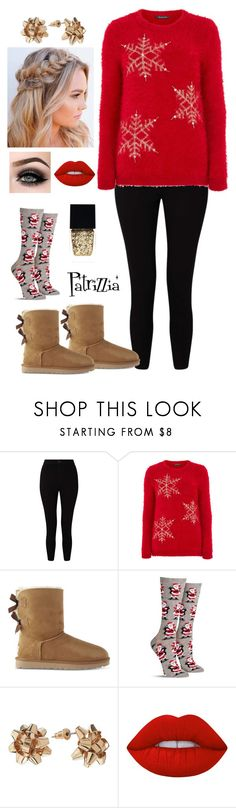 Patrizzia24.12.2017a by patrizzia on Polyvore featuring moda, Miss Selfridge, UGG, Lime Crime, Witchery, ASAP and patrizziapolyvore