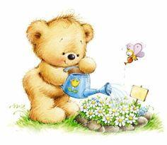 Leading Illustration & Publishing Agency based in London, New York & Marbella. Tatty Teddy, Bear Clipart, Cute Clipart, Rock Clipart, Cute Images, Cute Pictures, Art D'ours, Blue Nose Friends, Cute Teddy Bears