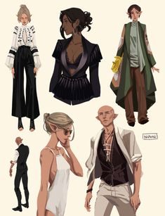 Thedas runways! these are some of the outfits ideas you sent!! thank you this was honestly super fun, I still have a bunch i want to do and you can always submit more if you want!! these were from @potahdo @avelyst and @robotslenderman also there was...