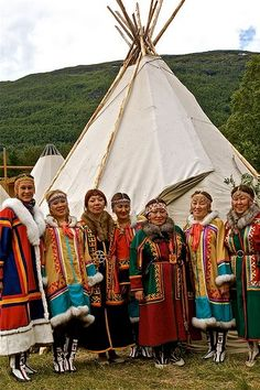 You'd have to dance to keep warm in Siberia.. Nenets, West Siberia (Northern Asia).