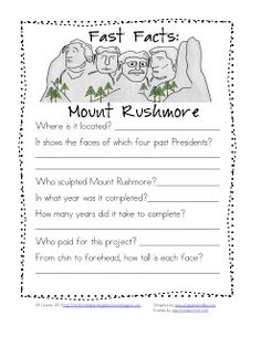 Mount Rushmore Lesson Plans | am so excited about this unit and can't wait to use it in my ...