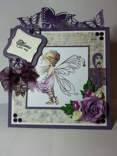 Silver Fairy from Wee stamps
