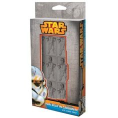 Bring one of the most iconic scenes in Star wars home with you in the form of an ice cube tray. With Han Solo frozen in carbonite, these ice cubes will be a hit with any star wars fan. Star Wars Han Solo, Star Wars Rebels, Han Solo Frozen, Star Wars Helmet, Old Glory, Disney Star Wars, Dark Side, Cuba, The Darkest