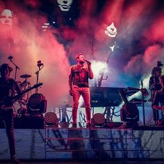 """""""I think what people should realize — and will realize as time marches on, since this [Paper Gods] album has had such an incredible run — is that this whole band values music"""" #MNDR to #yahoomusic"""