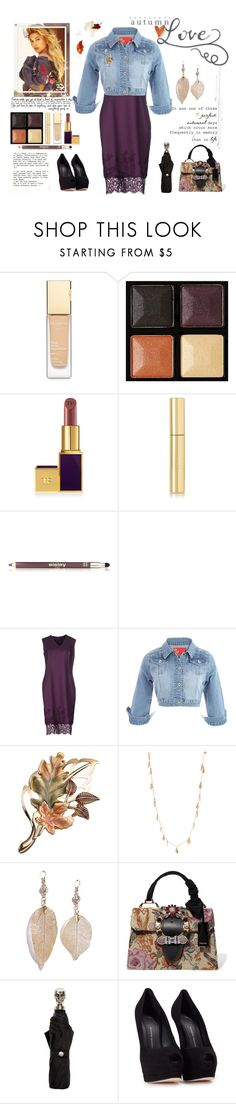 """Autumn Love"" by saifai ❤ liked on Polyvore featuring Garance Doré, Clarins, Givenchy, Tom Ford, AERIN, Sisley, Farrow & Ball, Ermanno Scervino, Dinny Hall and LULUS"