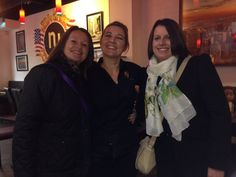 (127) Karren Whitren's first visit to our Brighton shop with Helen Love. Lovely photo with Manager Kate too!