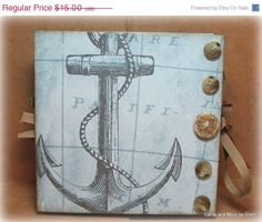 ON SALE Handmade Accordion Flip Mini by CardsAndMoreBySheri, $11.25