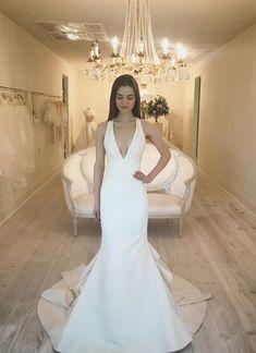 Mermaid Wedding, Fit And Flare, Dream Wedding, Silhouette, Bridal, Wedding Dresses, Spring, Modern, Style