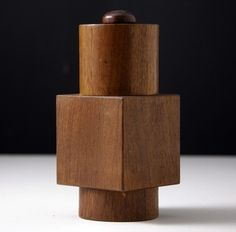 Mid Century Dansk Teak Salt & Pepper Mill Designed by Jens Quistgaard Sold for $810